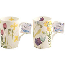 Y43006 Rayware Fine Bone China Mugs Bloom 5464