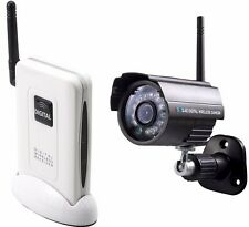 Home CCTV Security Camera with Digital 2.4GHz Wireless, Audio, Receiver
