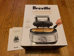 Breville BWM520XL The No-Mess Waffle Maker **OPEN BOX** In Box