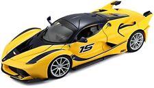 Modellini statici di auto da corsa blu in plastica per Ferrari
