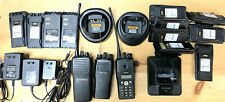 Motorola 2 Way Radios Batteries 11 Docks 3 Power Cords 3 For Parts Only