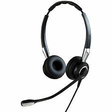 Jabra GN Netcom BIZ 2400 II QD Duo UNC Headset verkabelt On-Ear Schwarz / Silber