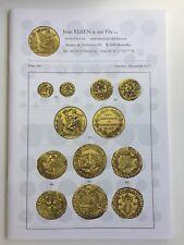 JEAN ELSEN AUCTION CATALOG BELGIUM ANCIENT & WORLD COINS LISTE 266 OCT-DEC 2013