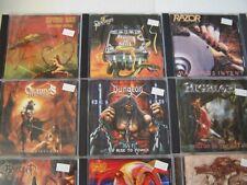Heavy, Power, Death, Black Metal CD Lot $10 Each