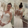 Hot New white/ivory wedding dress custom size 2-4-6-8-10-12-14-16+++++