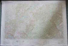 Corbin, and Johnson City KY, TENN, Topo Survey Map 22 x 32  NJ 16-12 + NJ 17-10