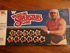 WWF Wrestling Superstars Board Game  Vintage 1985 - Complete! Barely Played! WWE
