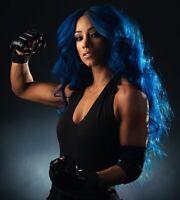 Sasha Banks 8x10 Photo Print posed Photograph WWE NXT AEW The Undertaker Tribute