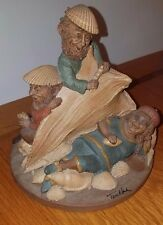 Tom Clark Gnome - June, July & August - Summer beach fun with seashells and sand