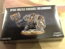 40K Warhammer Space Wolves Venerable Dreadnought NIB Sealed