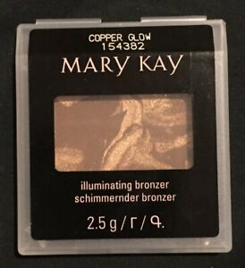 1 X Mary Kay Copper Glow Illuminating Bronzer Compact FREE POSTAGE