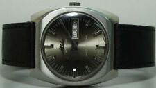 Vintage Mido Automatic Day Date Swiss Mens Wrist Watch s450 Old used