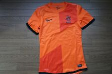 Netherlands Holland 100% Authentic Player Issue Soccer Jersey S 2012 Home [3212]