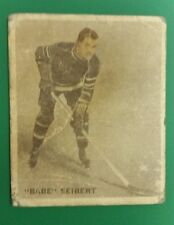 1933 ICE KINGS #8 BABE SIEBERT Rookie World Wide Gum English Only HOFer RC