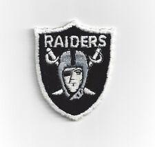 1980's Los Angeles Raiders patch NFL helmet logo