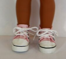 "sneakers for 14 "" Wellie Wishers doll American Girl new pink shoes"