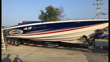 1992 42' cigarette revolution hull go fast speed boat