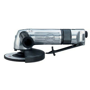 """4-1/2"""" Sioux 'Force' Right Angle Air Disc Grinder 5/8-11 Thread 12,000 RPM .86Hp"""