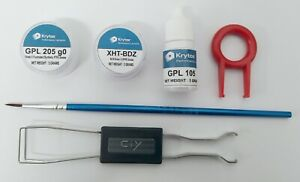 Krytox Keyboard Bundle - GPL 205 g0 + XHT-BDZ + GPL 105 + BRUSH + KEYPULLERS