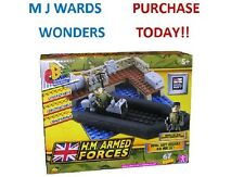 HM Armed Forces Character Building - Royal Navy Assault Rib Mini Set -GREAT GIFT