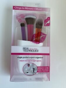 Real Techniques Miracle Cling Single Pocket Expert Organizer BNIB Make Up Store