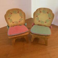 Vtg Muffy Vanderbear Chair Set Of 2 Decor Furniture Accessories Dolls NIB