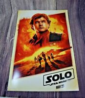 Disney Han Solo Disneyland Star Wars Night Promo Mini Poster Disney After Dark