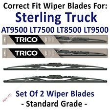 Wipers 2pk Standard fit 1999-2010 Sterling Truck A9500 L7500 L8500 L9500 30200x2