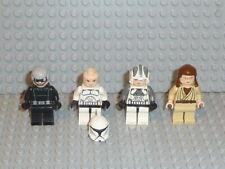 Lego ® Star Wars 4x personaje Clone Trooper Jedi 10188 75159 75192 9516 accesorios f167