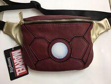 Loungefly Marvel Iron Man Fanny Pack Zip Adjustable