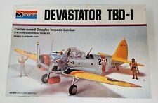 Monogram Devastator TDB-I 1:48 Scale Open Complete GB-AW
