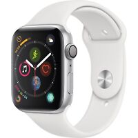 Apple Watch Series 4 GPS 40mm Silver Case with White Sport Band MU642LL/A