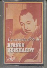 """K 7 AUDIO (TAPE)  DJANGO REINHARDT  """"LA CASSETTE D'OR"""" (NEUVE SCELLEE)"""