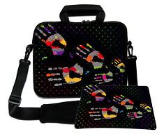 LUXBURG 14,2 Inch Design Laptop Notebook Shoulder Bag with Matching Mousepad #DC