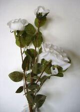Single Stems Roses Silk Flowers/ Petal Craft Floral Supplies
