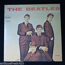 INTRODUCING THE BEATLES lp VEE JAY VJLP-1062 STEREO-BRACKETS-DG