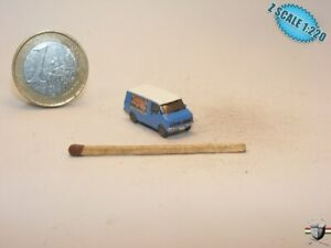 Bedford Blitz Z scale 1/220 Hand-painted Metal Model