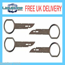 FORD TRANSIT 2006 to 2011 PINS TOOLS 5000C 6000 CD RADIO STEREO REMOVAL KEYS 132