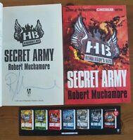 ROBERT MUCHAMORE SIGNED SECRET ARMY HENDERSON'S BOYS 1/1 UK PB 2010 BRAND NEW