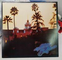 """1976 Eagles """"Hotel California"""" LP - Asylum Records (6E-103) STERLING press, NM-"""