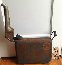 VINTAGE OPEL GAS CAN SUITCASE STYLE ; APPROVED OPEL ACCESSORY