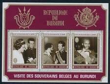 Burundi Block 45 A postfrisch / **, König Baudoin (29593)