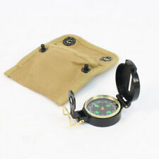 US WW2 Replica US Compass and Pouch by Combat Serviceable AL109