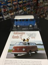 DREAM CARS COLLECTION - SALVAT - VOLKSWAGEN KOMBI TYPE 2 T2 1976 1:24 EXCLUSIVE