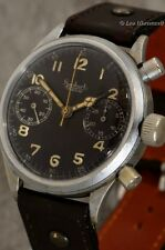 LARGE HANHART AVIATOR'S CHRONOGRAPH OF THE GERMAN AIR FORCE SECOND WORLD WAR