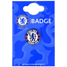 OFFICIAL CHELSEA FC CLUB ENAMEL CREST PIN BADGE FOOTBALL CLUB NEW GIFT XMAS