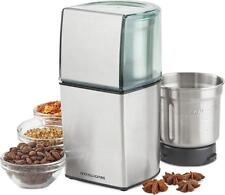 Andrew James Electric Coffee Grinder Wet and Dry Bean Nut & Spice Grinding