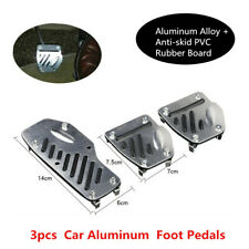 3xCar Non-slip Accelerator Pedal Foot Pedals Pad Cover For Engine Brake Clutch