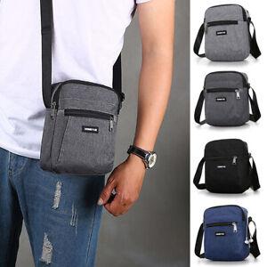 Men's Messenger Bag Waterproof Cross Body Shoulder Utility Travel Work Handbag