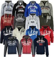 SMITH AND JONES MENS DESIGNER SWEAT TOP JACKETS  FLEECE LINED HOODIE CLEARANCE!